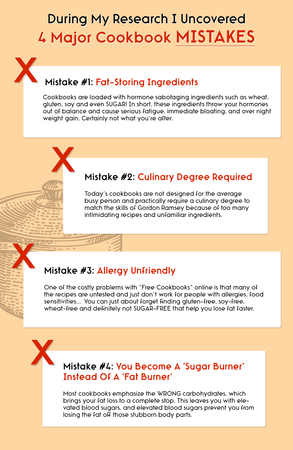 4 Cookbook Mistakes